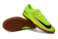 Футзалки (бампы) Nike Mercurial Victory VI IC Electric Green/Black/Volt, фото 1