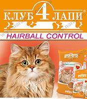 Сухой корм Club4Paws Hairball control на развес