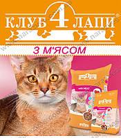 Сухой корм Club4Paws with Meat на развес