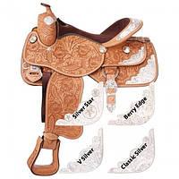 Седло  Вестерн Премиум класса для лошади