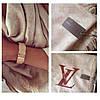 Шаль Louis Vuitton (Луи Витон) бежевый, фото 4