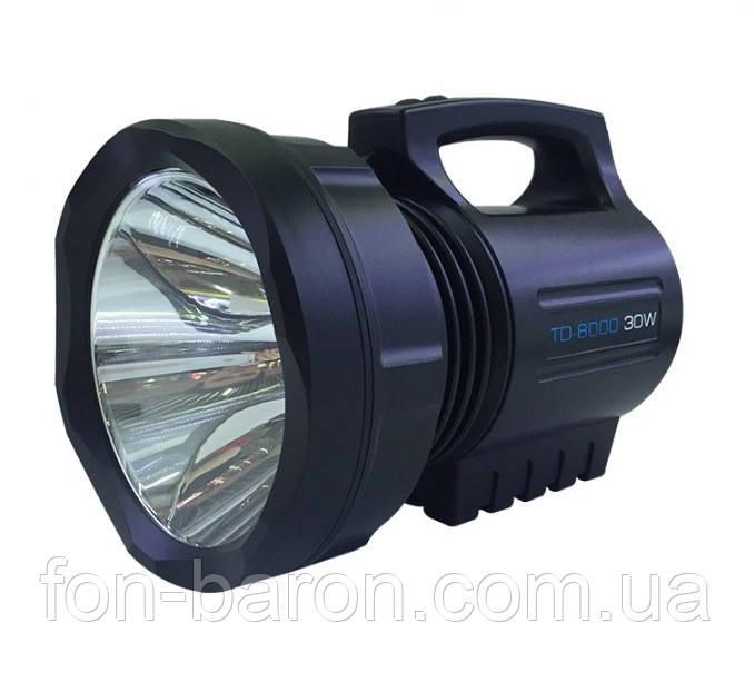 Мощный фонарь светодиодный аккумуляторный