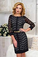 Эффектное женское вечернее платье Рона светло-серый  44-46 размеры