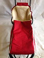 Конверт на санки (макси)колясочная ткань
