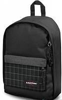 Практичный черный рюкзак 17,5л. Eastpak - Tordi Mix Check EK94533M