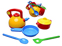 """Набор игрушечной посуды """"Юная хозяюшка"""", 048-14"""