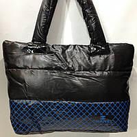 Молодежная женская сумка пуховик  chanel  оптом