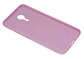 Силиконовый чехол Ultra-thin на Meizu Pro 5 Pink