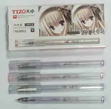 Ручка гелевая Tizo Аниме синяя