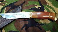 Нож охотничий с гравировкой  Олень сделано в Украине(ручная работа)