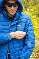 Мембранная зимняя термокуртка для мужчин BRUGI Италия