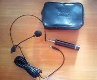 Микрофон электретный конденсаторный наголовной проводной CTP-10DX