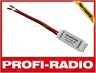 Усилитель повторитель 3-х канальный для светодиодных LED лент, 5-24В