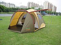 Палатка туристическая для кемпинга 4 местная Green Camp