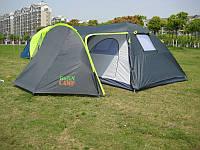 Кемпинговая палатка четырехместная Green Camp