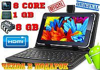 СУПЕР планшет Goclever TAB A741.8 ЯДЕР + чехол клавиатура