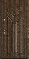 Двері броньовані Стандарт Виноріт, ручка на планці+коробка з чвертю