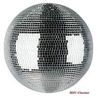 Дзеркальна куля, діаметр 70 см дискобол для клубу кафе бару ресторану будинку