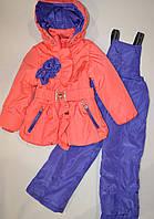 Демисезонная куртка +полукомбез 92, 104
