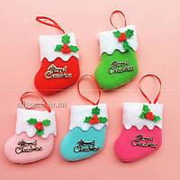 Носок новогодний, Рождественский мешок, носки для подарков