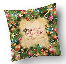 Подушка Рождество .