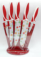 Набор ножей с антипригарным покрытием 6 предметов Kamille KM 5170