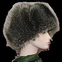 Мужская зимняя шапка из меха енота