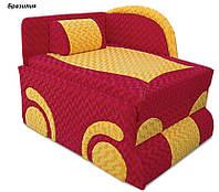 Диван детский Машинка мех., выкатной ткань Бразилия