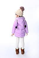 Куртка зимняя для девочки Nicoleyo