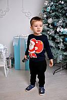 """Новогодний, детский свишот """"Дед мороз"""" для девочек и мальчиков. РАЗНЫЕ ЦВЕТА"""