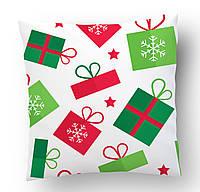 Подушка Новогодние подарки