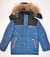 Зимняя куртка для мальчика 128