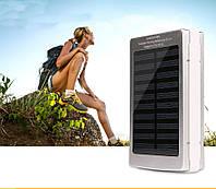Зарядное устройство внешний 35000 мАч Power Bank с зарядкой от солнечной батареи SOLOR