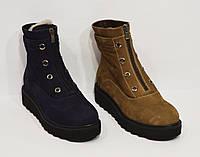 Зимние коричневые ботинки Destino 129