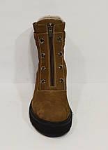 Зимние коричневые ботинки Destino 129, фото 2