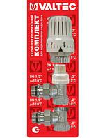 Комплект терморегулиующего оборудования для радиатора угловой VALTEC VT.045