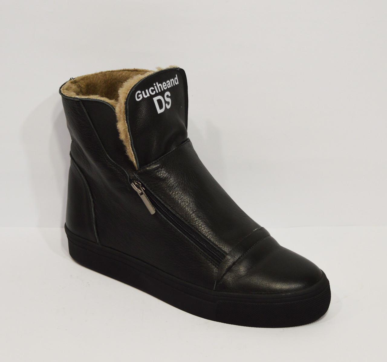 Черные зимние ботинки Ditas 104