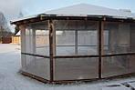 Страшен ли мороз для ПВХ штор?