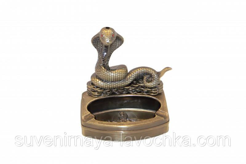 Пепельница с зажигалкой Змея