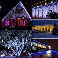 Светодиодные гирлянды LED для украшения интерьеров и фасадов
