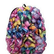 Фирменный рюкзак MadPax Bubble Half цвет Butterfly бабочки, фото 2