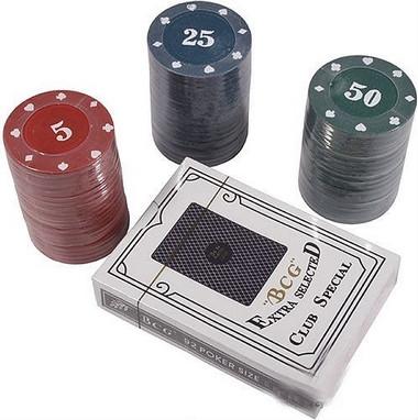 Набор для игры в покер с номиналом 60 фишек Duke CC4060