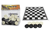 Запасные фигуры для шашек и полотно для игр
