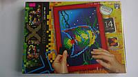 """Мозаика самоклеющаяся """"Pixel Mosaic"""" с рамкой,14 цв, 6+,ДанкоТойс, 345*255*35 мм.Мозаїка дитяча самоклеюча """"Pi"""