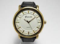 Часы классические Guardo Classic,  Made in Italy, цвет золото, белый циферблат