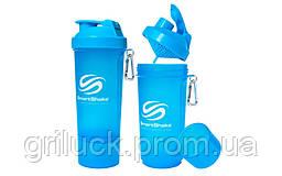 Спортивный шейкер для протеина Smart Shaker гоулбой