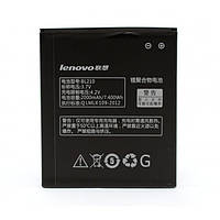 Аккумулятор BL210 для Lenovo S820, S650, A656, A766, A529, A536, A606, A828T, A368T, A658T, A358t, 2000мAh