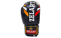 Перчатки боксерские черная 10,12oz Zelart