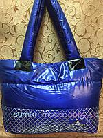 РАСПРОДАЖА Спортивная сумка Шанель Хлопок дутая стильный Сhanel только оптом, фото 1
