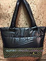 РАСПРОДАЖА Спортивная сумка Хлопок дутая стильный Сhanel только оптом, фото 1